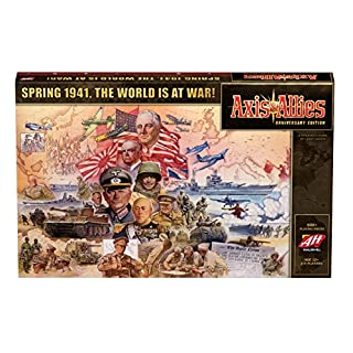 Avalon Hill HASC39720000 C39720000 Axis and Allies Anniversary Edition Game