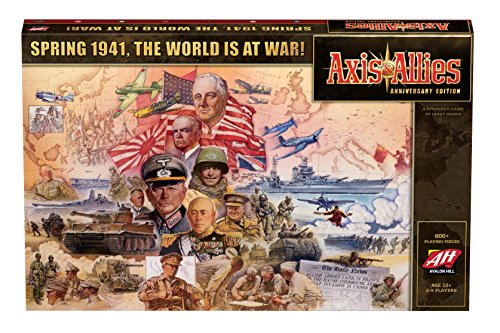 Avalon Hill Board Game Axis & Allies Anniversary Edition