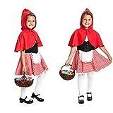 Kostümplanet Rotkäppchen Kostüm Kinder Rotkäppchenkostüm Kinderkostüm Größe 104 für Kostümplanet Rotkäppchen Kostüm Kinder Rotkäppchenkostüm Kinderkostüm Größe 104