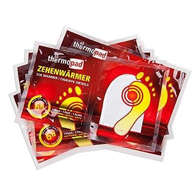 Thermopad Zehenwärmer - Calentadores de pies, color beige, talla 10 Pairs