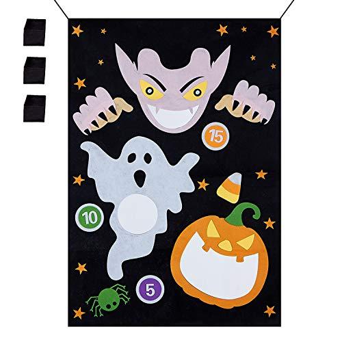 n-Dekoration, Vampir-Hängespiel mit 3 Sitzsäcken für Erwachsene Kinder Halloween Party ()