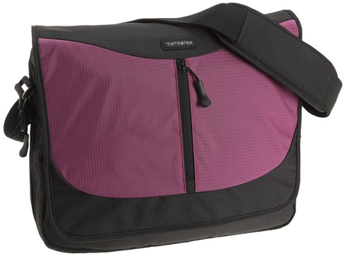 Samsonite Laptoptasche URBNATION LAPTOP MESSENGER EXP FUCHSIA