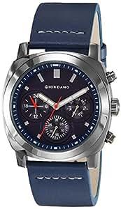 Giordano Analog Blue Dial Men's Watch - 1751-03