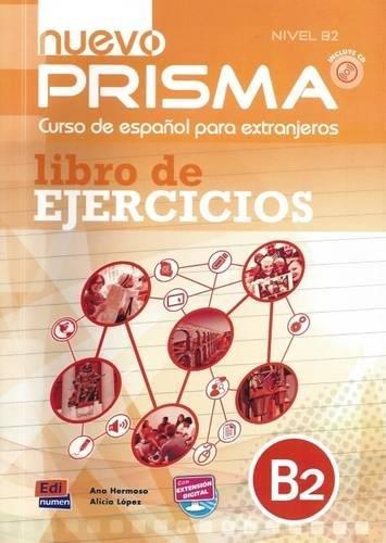 nuevo Prisma B2 - Libro de ejercicios + CD
