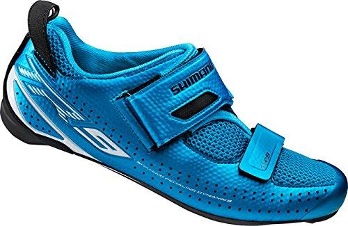 Shimano Erwachsene Fahrradschuhe Triathlonschuhe SH-TR9 GR. 39 SPD-SL Klettverschl.,ESHTR9NC390SB00