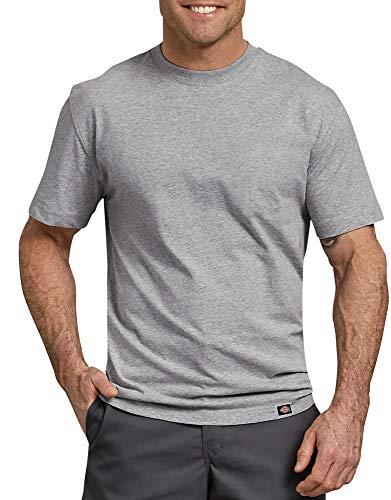 Dickies Unisex-Erwachsene Short Sleeve Heavweight Crew Neck Arbeits-T-Shirt, Grau meliert, X-Groß