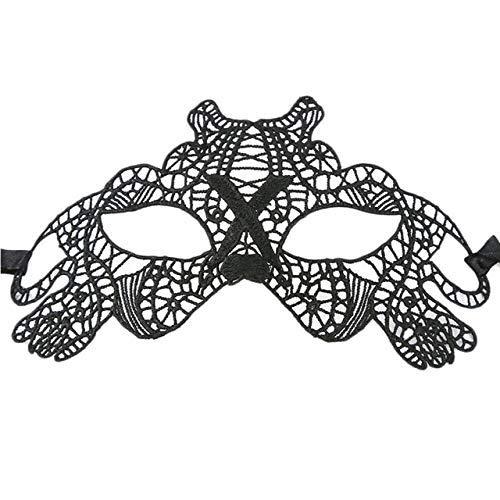 Bilder Masquerade Kostüm - AiCheaX Lace Crafts - 1 Stück New Black Sexy Beauty Kostüm Lace verlockende Maske Masquerade Ball Prom Halloween CostumeMask Decor - (Farbe: Pet Dog)