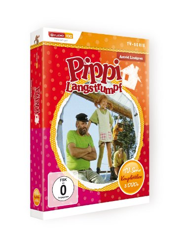 Astrid Lindgren: Pippi Langstrumpf - TV-Serie Komplettbox [5 DVDs]: Alle Infos bei Amazon