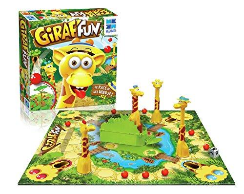 MEGABLEU Giraf'Fun Niños Viajes/Aventuras - Juego de Tablero (Viajes/Aventuras, Niños, Niño/niña, 5 año(s), Interior, Caja de cartón, De plástico)