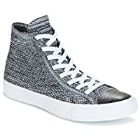 Converse Chuck Taylor All Star Nike Flyknit Flyknit Multi HI Flyknit Mult Trainers Hommes Black/Grey/White Hi top Trainers