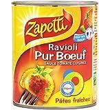 Zapetti Ravioli Pur Bœuf la Boîte 800 g net - Lot de 6