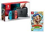 Nintendo Switch Konsole 32Gb Neon-Rot/Neon-Blau + Donkey Kong Country: Tropical Freeze