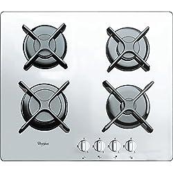 Whirlpool 6400 WH AKT 6400/WH Plaque de cuisson à gaz, Blanc