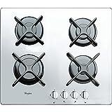 Whirlpool AKT 6400/WH Piano Cottura a Gas in Vetro da Incasso