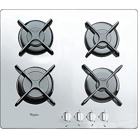 Table Blanc Cuisson - Whirlpool AKT 6400/WH–Plaque (intégré, gaz, verre, couleur