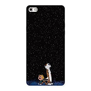 Enticing Counting Stars Multicolor Back Case Cover for Micromax Canvas Silver 5