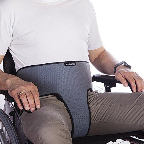 Sicherheitsgurt   für Rollstuhl   Grau   Mobiclinic