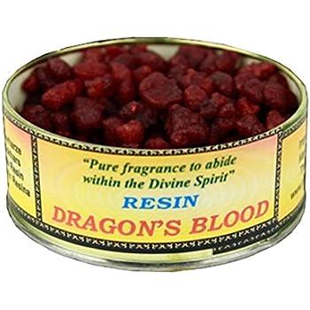 FindSomethingDifferent 60 grammes Résine d'Encens Sang de Dragon dans une boite