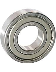 EZO - Roulement à billes à gorge profonde rangée simple en acier inoxydable 6004 ZZ (20x42x12)