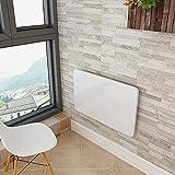 KAD Computer-Schreibtisch zur Wandmontage für den Haushalt - Klappbare Wandfarbe Klapptisch aus Holz Küchen- und Esstisch Computer-Schreibtisch An der Wand montierter Lerntisch Schreibtisch m