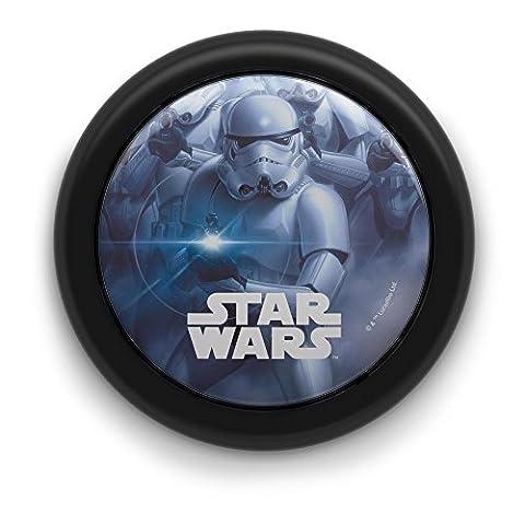 Philips Veilleuse poussoir LED Motif Star Wars Noir