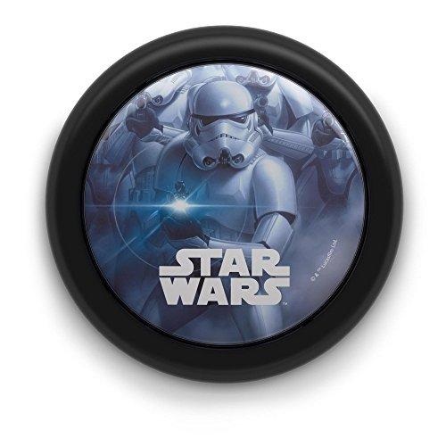 Philips Disney Star Wars LED Nachtlicht, schwarz (Nachtlicht Wand)