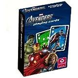 Cartamundi 107592924 The Avengers - Baraja con diseño de Los Vengadores (55 cartas)