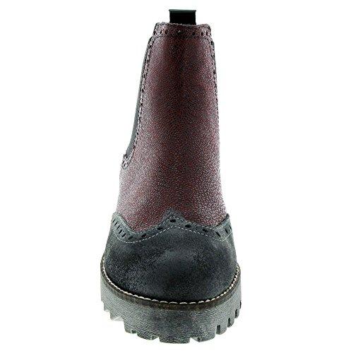Scarpe Marc Marroni Katy Chelsea Boots Rot (bordo-combi)