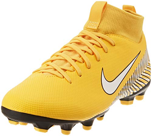 Nike Superfly VI Academy Neymar, Chaussures de Football garçon, Multicolore (Amarillo/White-Black 710), 38 EU