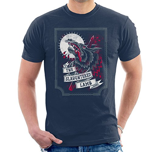 An American Werewolf In London Slaughtered Lamb Men's T-Shirt