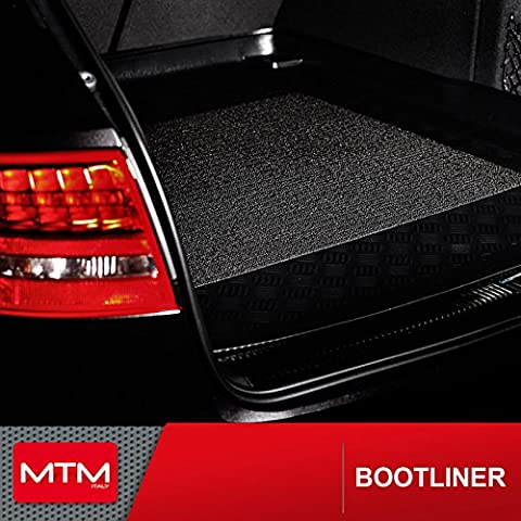 Trunk mat Mercedes Classe C Coupe (W205) from 01.2016- boot liner MTM custom fit - antislip surface