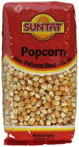 SUNTAT Popcorn Mais, 3er Pack (3 x 500 g)