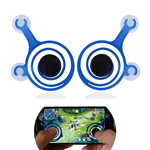 Drive Industrial-fan (Universal Spiral Mini Joystick 2pc, Cocomii Master Gamepad NEW [Maximum Precision] Perfect Game Controller Rocker Joypad For All Smartphones Tablets iPhone iPad Androids [Mission Accomplished] (Blue))