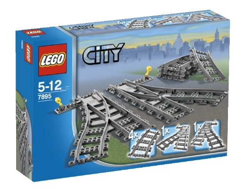 Lego - 7895 - City Trains - Scambi per la ferrovia
