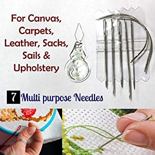Multi Function 7 Pcs Needle Set- Treading Sewing Repair, Stitching Essential