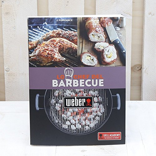 Weber Libro Lo Chef del Barbecue-Libri, Multicolore, Unica