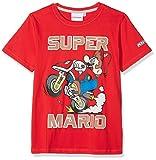 Mario Bros 174099, T-Shirt Garçon, Rouge (Rouge Rouge), Taille Fabricant: 6 Ans