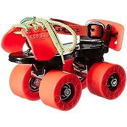 Cosco Zoomer Roller Skate with Protective Kit, Junior (Orange)