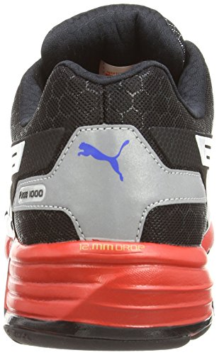 Puma Faas 1000 R1.5, Chaussures de Course Mixte Adulte Black/Silv/Blanc