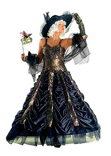 Fiori paolo gr5246 - dama di venezia costume carnevale atelier (taglia l)
