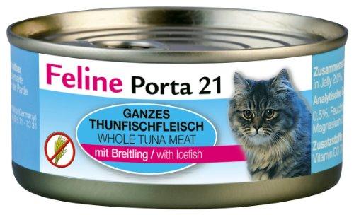feline-porta-katzenfutter-feline-porta-21-thunfisch-plus-breitling-156-g-6er-pack-6-x-156-g