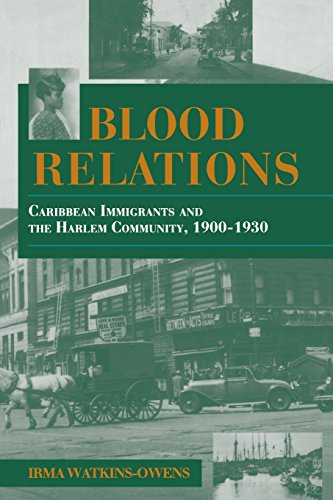 Blood Relations: Caribbean Immigrants and the Harlem Community, 1900-1930 (Blacks in the Diaspora) por Irma Watkins-Owens