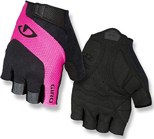 Giro Damen Tessa Gel Fahrradhandschuhe, Black/pink, M