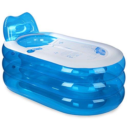 LXF Vasca da bagno gonfiabile Vasca da bagno gonfiabile vasca da bagno adulti vasca da bagno lavabo pieghevole vasca da bagno in plastica Viaggi Portable ( Colore : Hand pump , dimensioni : L. )