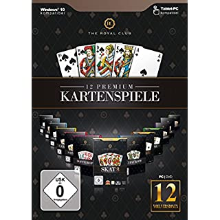 The Royal Club - 12 Premiumkartenspiele - [PC]