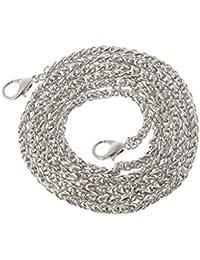 JAGETRADE - Bolso Bandolera de Metal para Bolso de Mano, 120 cm, Metal,