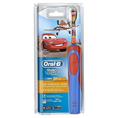 Oral-B Stages Power - Brosse à Dents Électrique pour Enfant - Cars & Planes de Disney