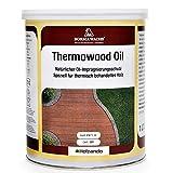 1 Liter Thermowood Natur Thermoholz Öl Holzöl (Dunkel - 63)