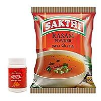 The Spice Club Compounded Asafoetida Powder 50g + Sakthi Rasam Powder 500g - Value Pack