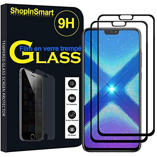 ShopInSmart® 2X Hochwertige gehärtete Panzerglasfolie für Huawei Honor View 10 Lite 6.5
